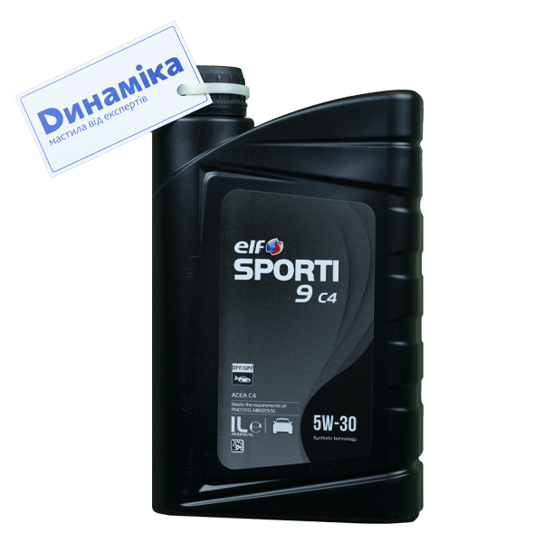 ELF Sporti 9 C4 SAE 5W-30