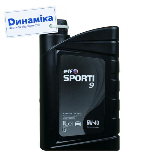 ELF Sporti 9 SAE 5W-40