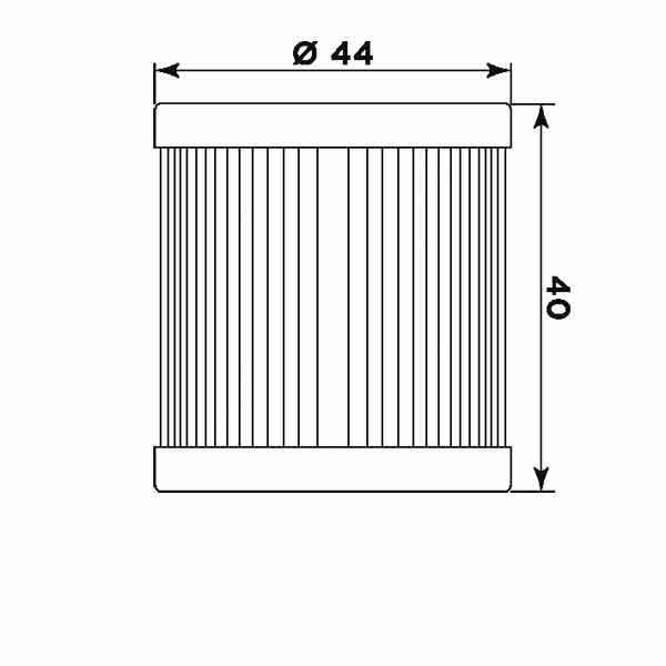 Фільтр масляний S3003 для мототехніки Hyosung, Suzuki