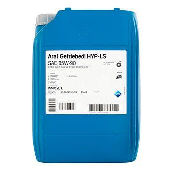 Трансмісійне масло Aral Getriebeoel HYP LS SAE 85W-90 20л