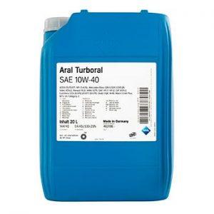 Моторне масло Aral Turboral SAE 10W-40 20л