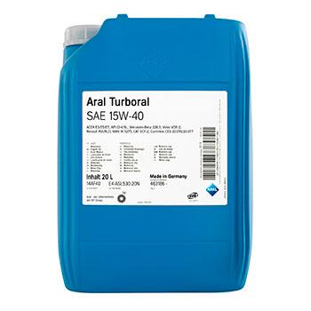 Моторне масло Aral Turboral SAE 15W-40 20л