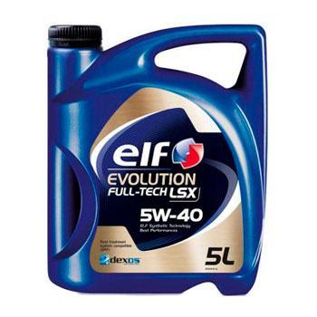 Моторне масло ELF Evolution Full-Tech LSX SAE 5W-40 5л