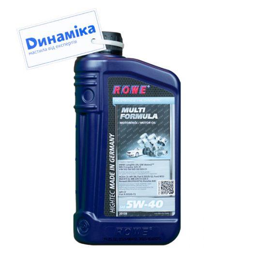 ROWE HIGHTEC Multi Formula SAE 5W-40