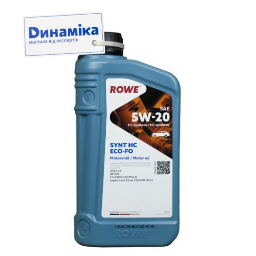 ROWE HIGHTEC SYNT HC ECO-FO SAE 5W-20