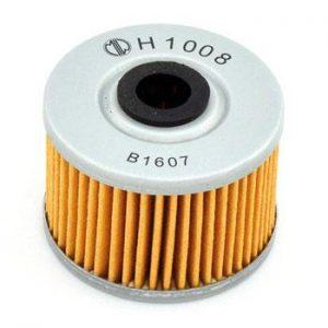 Фільтр масляний MIW H1008 для мототехніки Adly, Dinli, Gas Gas, Honda, Kawasaki, Suzuki