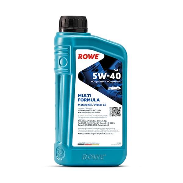 Моторне масло Rowe HIGHTEC MULTI FORMULA SAE 5W-40 1л