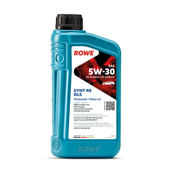Моторне масло Rowe HIGHTEC SYNT RS DLS SAE 5W-30 1л