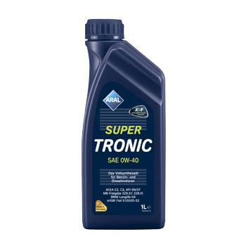Моторнє масло Aral SuperTronic SAE 0W-40 1л