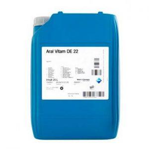 Гідравлічне масло Aral Vitam DE 22 20л