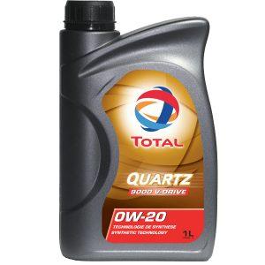 Моторне масло Total Quartz 9000 V-Drive SAE 0W20 1л