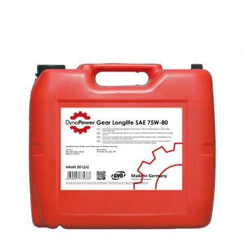 Трансмісійне масло DynaPower Gear Longlife SAE 75W-80 20л