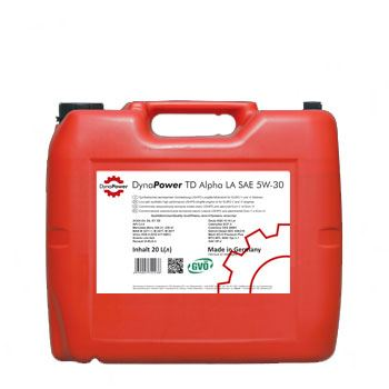 Моторне масло DynaPower TD Alpha LA SAE 5W-30 20л