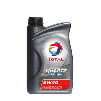 Моторне масло Total Quartz Ineo MC3 SAE 5W40 1л