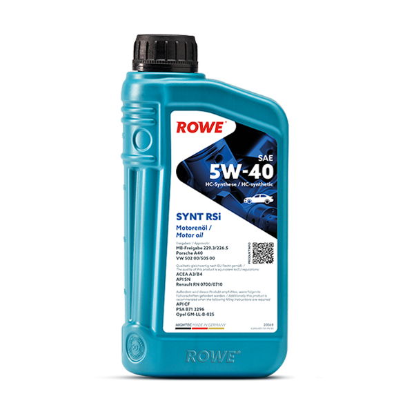 Моторне масло Rowe HIGHTEC SYNT RSi SAE 5w-40 1л