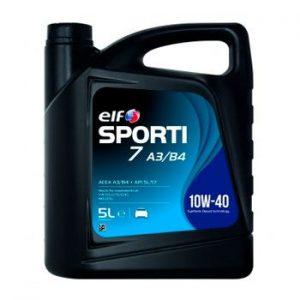 Моторне масло ELF Sporti 7 A3/B4 SAE 10W-40 5л