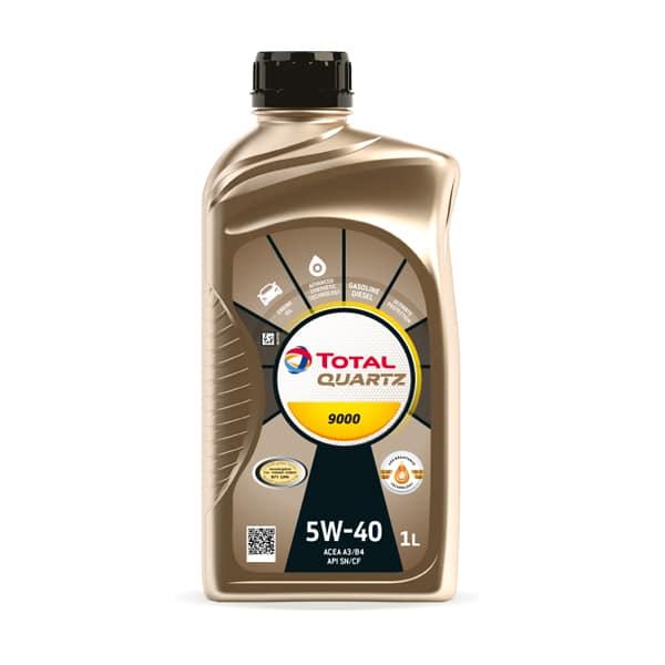 Масло Total Quartz 9000 SAE 5w-40 1л