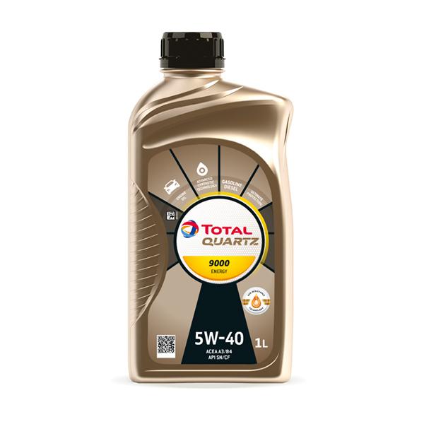 Масло моторне Total Quartz 9000 Energy SAE 5W-40 1л