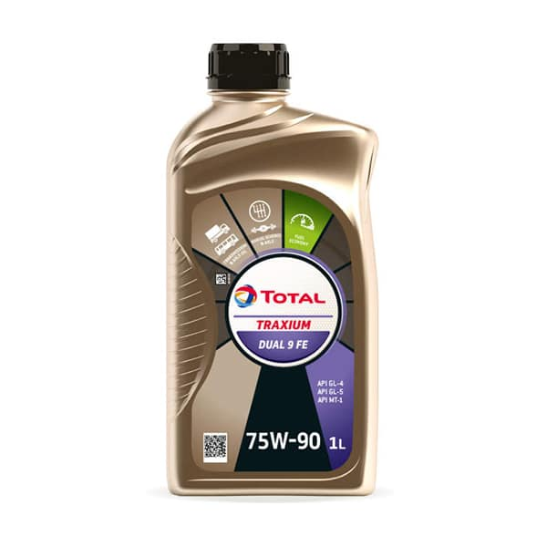 Масло трансмісійне Total Traxium Dual 9 FE SAE 75w-90 1л