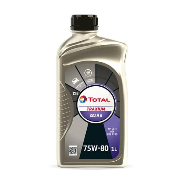 Трансмісійне масло Total Traxium Gear 8 SAE 75w-80 1л