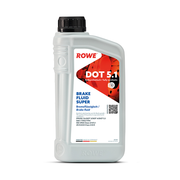 Гальмівна рідина Rowe HIGHTEC BRAKE FLUID SUPER DOT5.1 1л