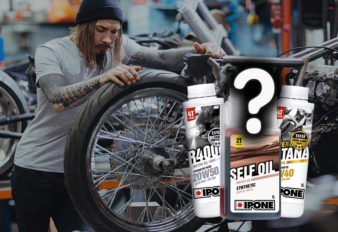 Як правильно обрати мотоциклетне масло