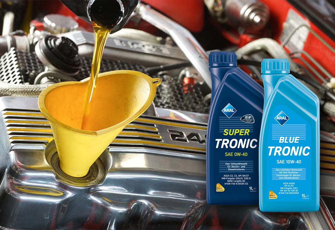 Синтетичні чи напівсинтетичні моторні масла