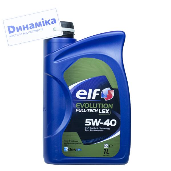 ELF Evolution Full-Tech LSX SAE 5W-40