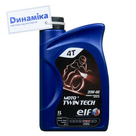 Elf Moto 4 Twin-Tech 20W-60